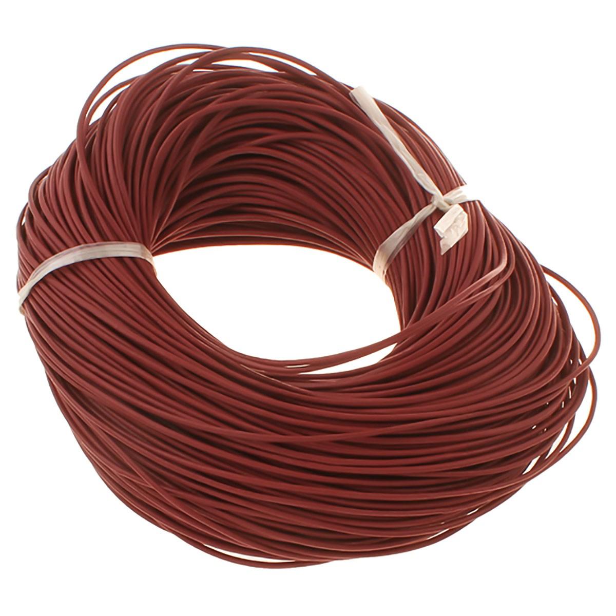 5 m lederband rund 1 2mm lederriemen lederschnur rind do it yourself schmuckmaterial. Black Bedroom Furniture Sets. Home Design Ideas