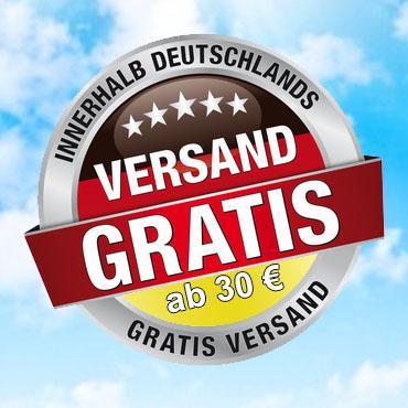 Gratis Versand in Deutschland ab 30 EUR